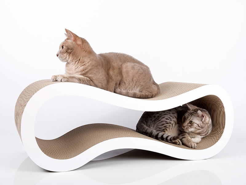Design cat scratch post cat-on Singha L | Handmade in Germany
