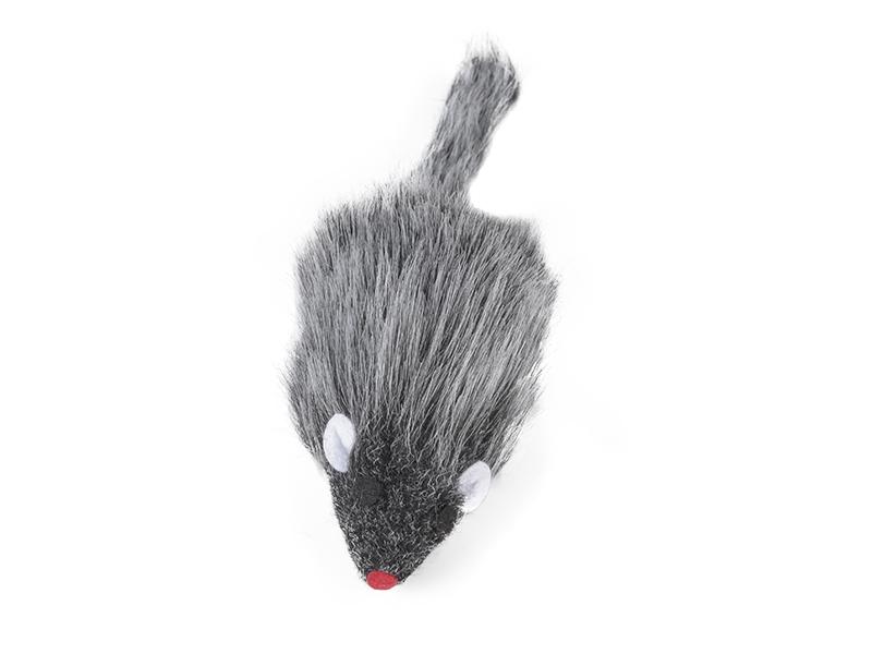 Hunter Smart Plüschmaus 10cm Baumwolle Spaß für jede Katze | cat-on