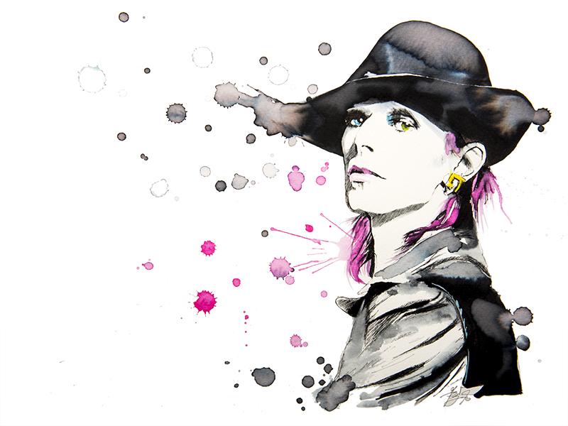 Pop Art by Federica Masini - David Bowie