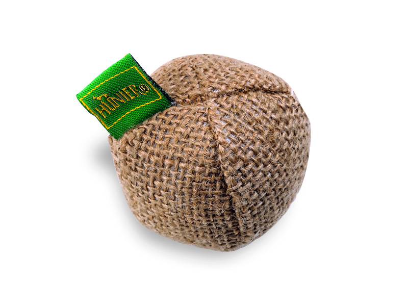 spiezeugball jute ball 5 cm katzenspielzeug spielzeug f r katzen. Black Bedroom Furniture Sets. Home Design Ideas