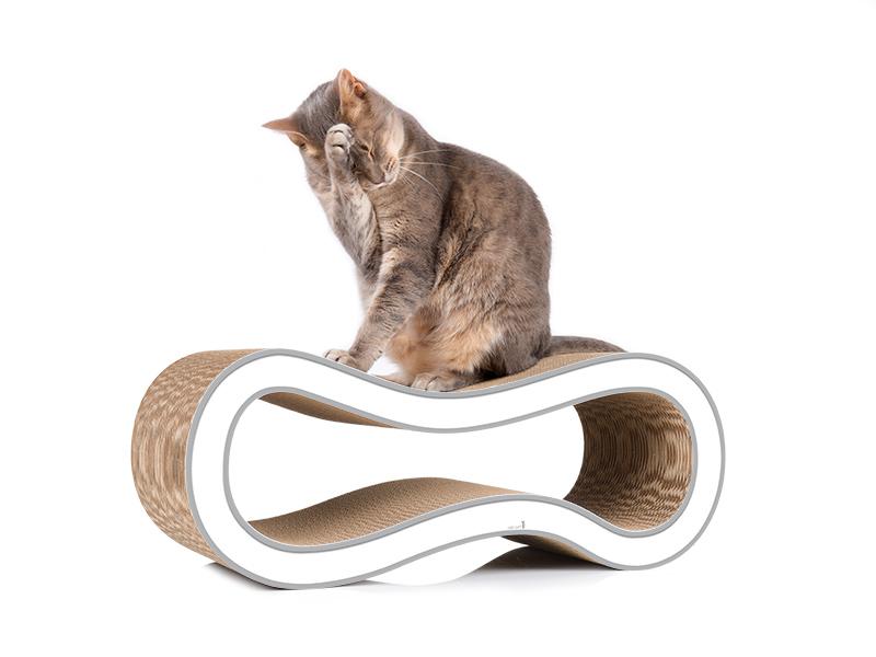 Kratzmöbel Singha M - cat-on Design Kratzbäume aus Wellpappe für Katzen