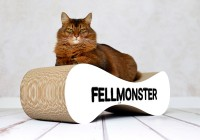 Vorschau: Design-Kratzmöbel Le Ver Fellmonster