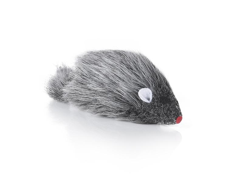 Katzenspielzeug Maus aus Plüsch 10cm Baumwolle Spaß für alle Katzen
