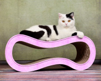 Vorschau: Design Katzenmöbel Singha M in rosa 004g