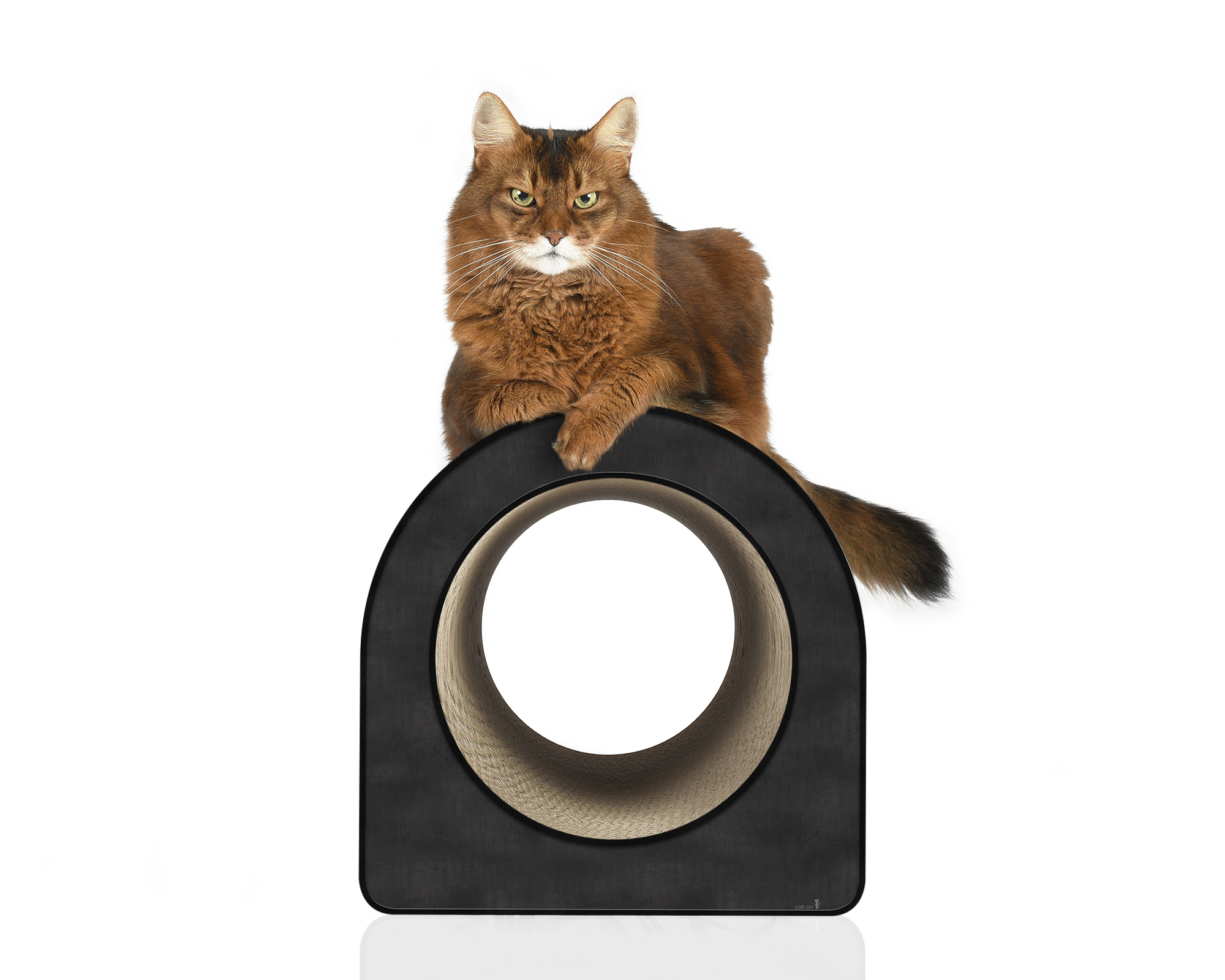 Cardboard cat scratcher Le Tube L - Made in Germany