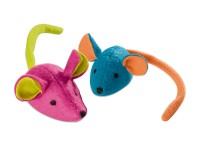 Preview: Colored mice cat toys