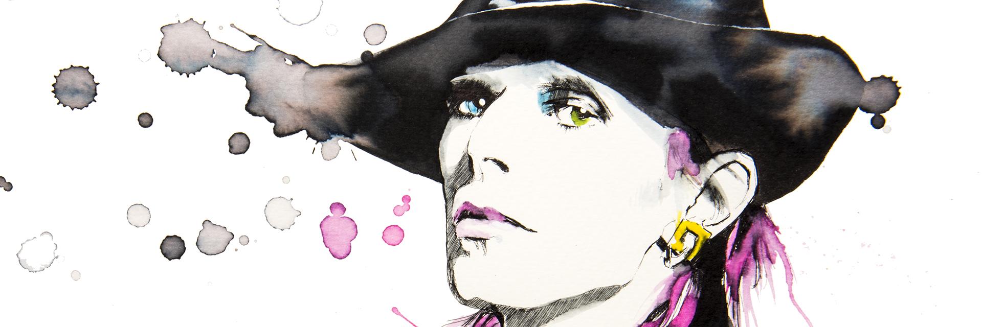 pop art by Federica Masini - David Bowie close up