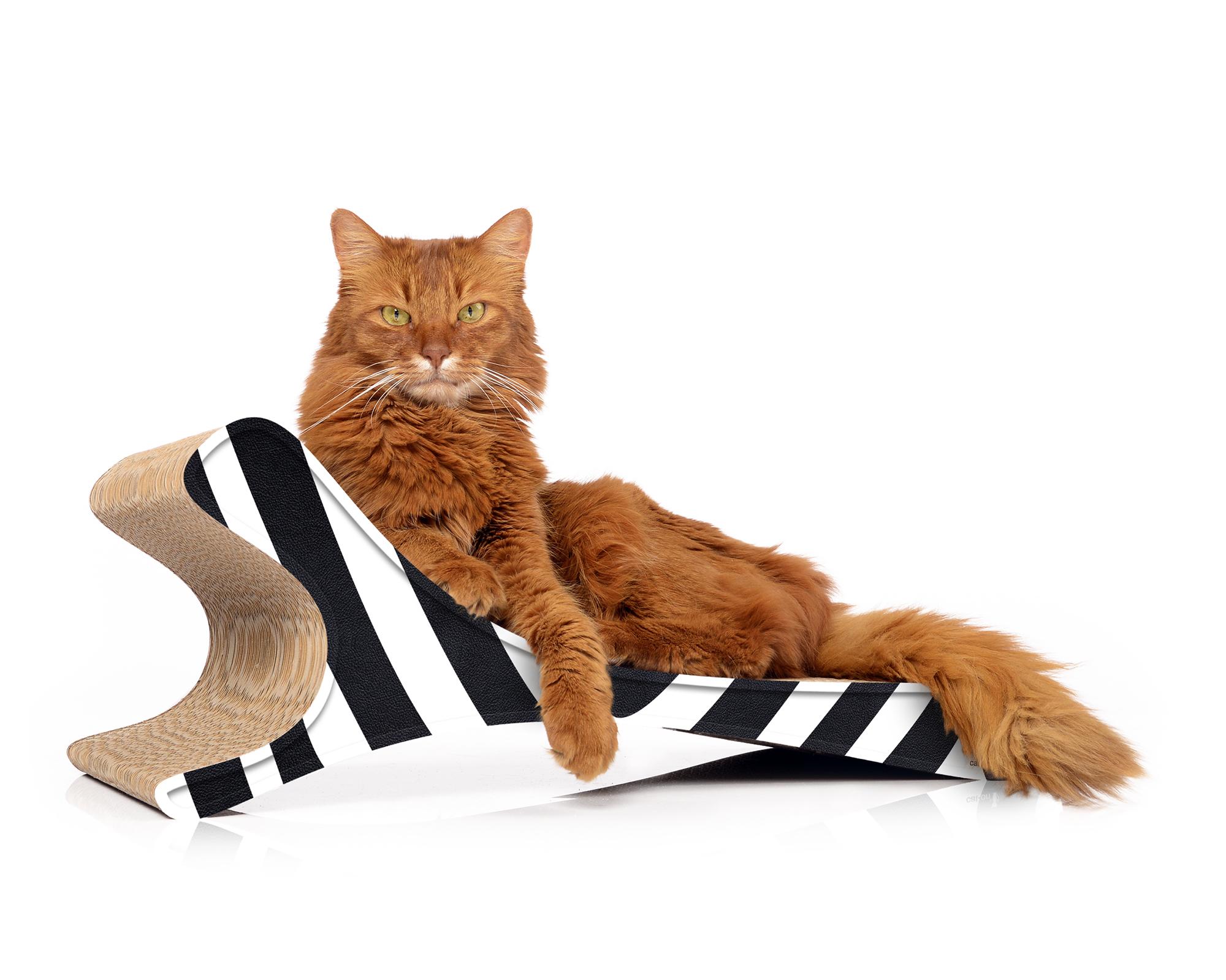 Katzenliege cat-on Feline |Kratzmöbel aus Kratzpappe