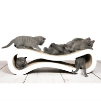Design scratch post Cat Racer - the turbo amongst cat trees