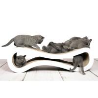 Design Kratzmöbel Cat Racer - der Turbo unter den Kratzbäumen