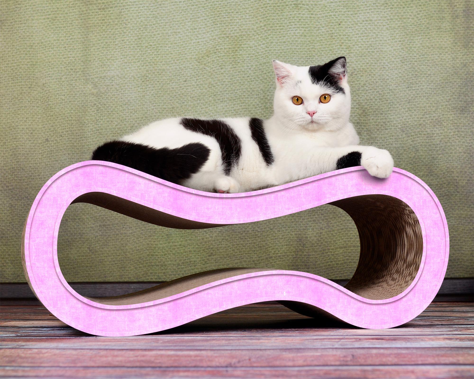 Design Katzenmöbel Singha M in rosa 004g