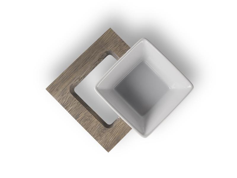 Meshidai feeding cup | cat bowl - dishwasher safe