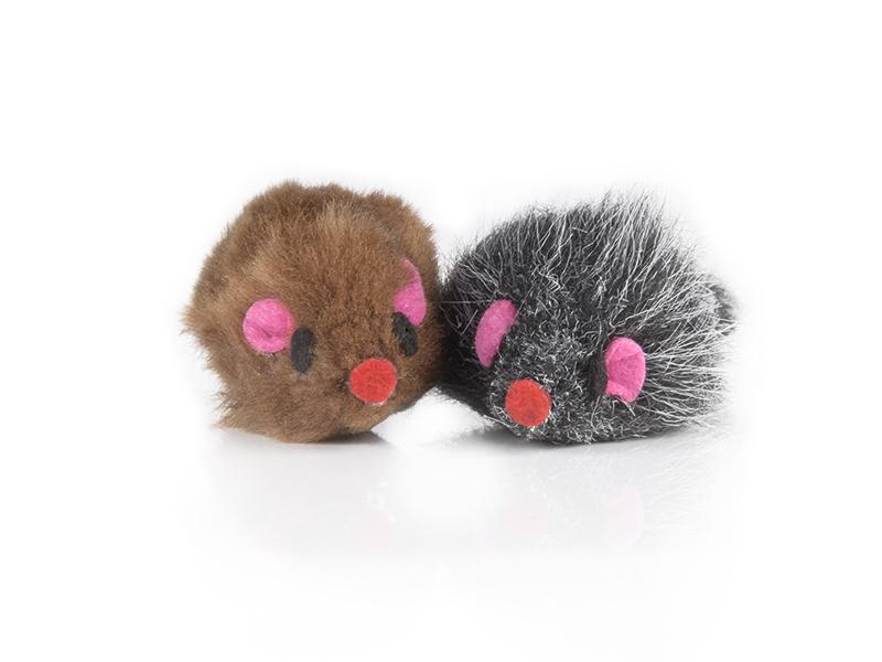Hunter Smart Plüschmaus Set aus Baumwolle | Spaß für jede Katze | cat-on