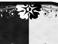 0033-Zwart & wit (zwarte rand)