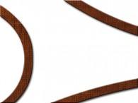002G-Wit met bruine rand