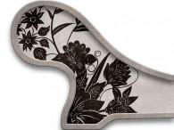 0018-Azië zwarte bloemen op beige-grijs