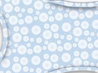080A-Bloemen op licht blauw
