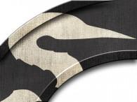 0012-Azië zilveren kraanvogel op zwart
