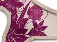 0016-Azië paarse bloemen op beige-grijs